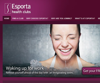 Esporta Health Clubs - Homepage